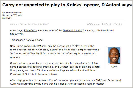 ESPN Eddy Curry gaffe