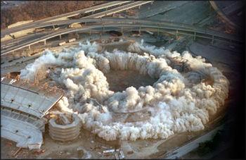 Stadium-implosion