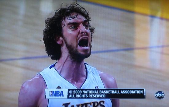 Pau Gasol NBA Finals