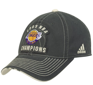 Lakers Championship hat