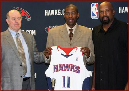 Jamal Crawford as a Hawk