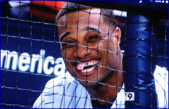Robinson Cano Really Happy