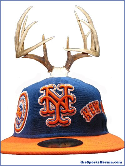 Mets-Antlers-Hat