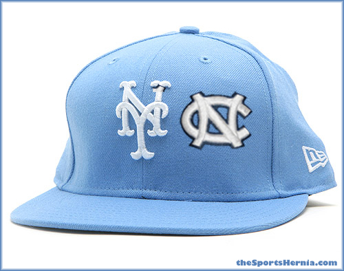 Mets-UNC-Tarheel-Hat