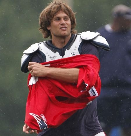 Tom Brady training camp diva