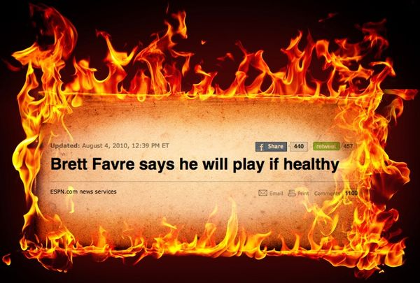 Brett Favre is coming back