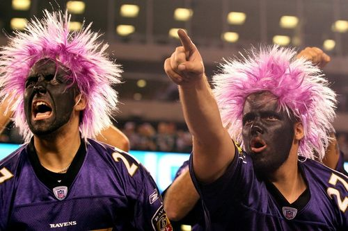 Ravens fans in no way pathetic