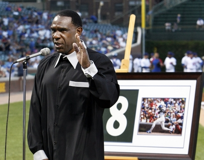 Andre Dawson ups the ante on Clemens