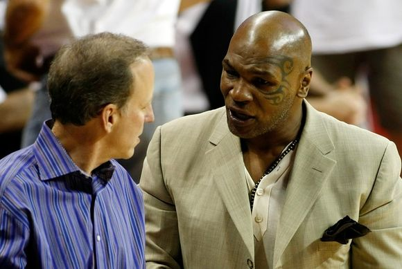 Mike Tyson and Jim Gray